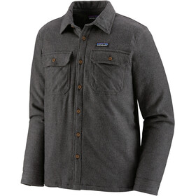 Patagonia Insulated Fjord Veste De Flanelle Homme, forge grey